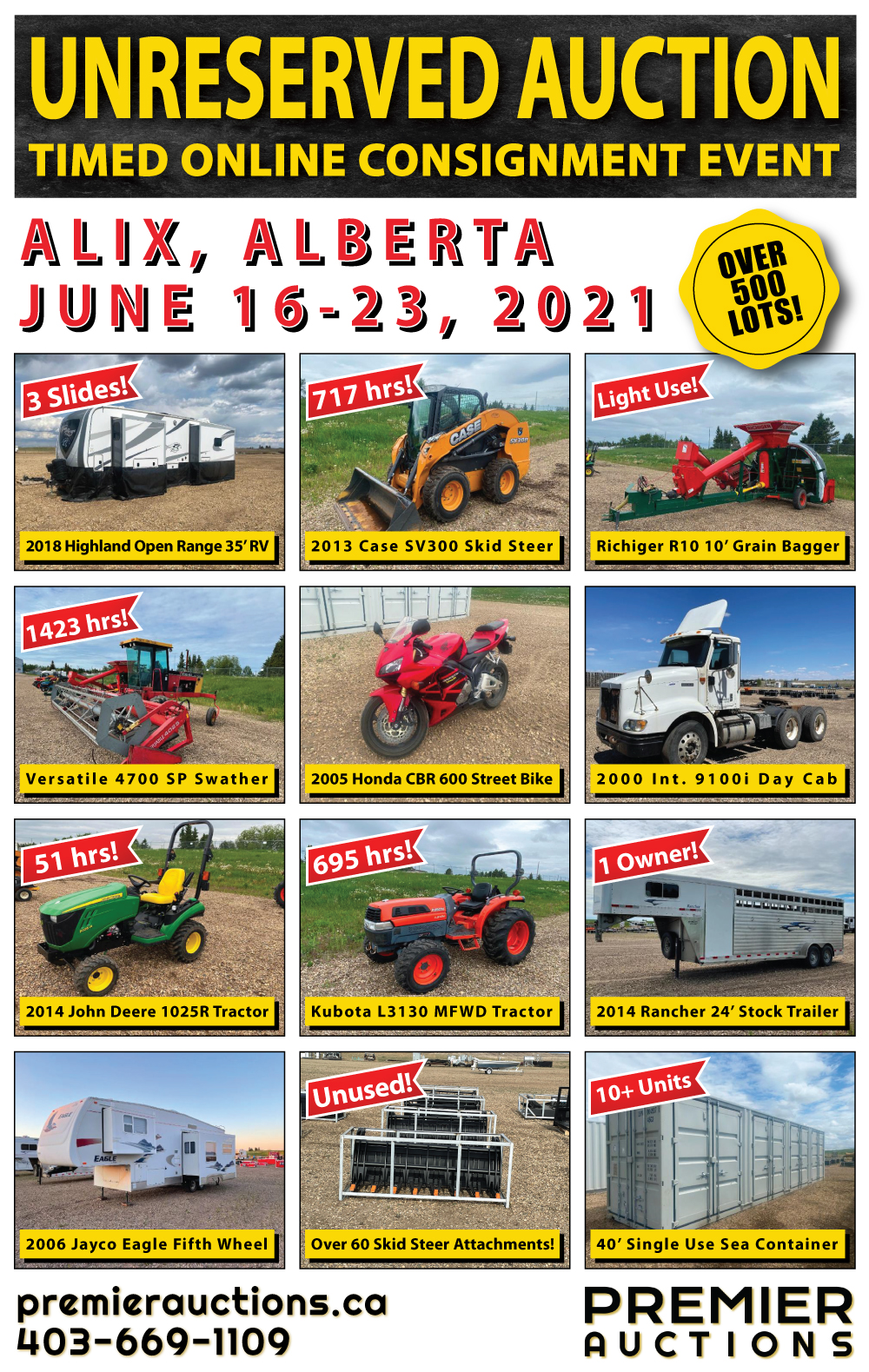 Unreserved Consignment Auction